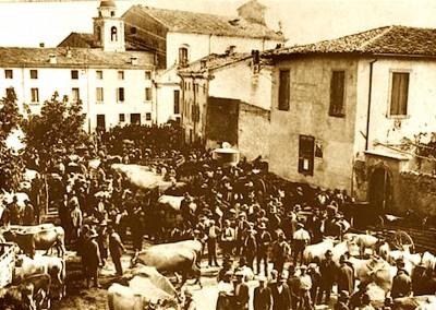 Copia di antica fiera del bestiame