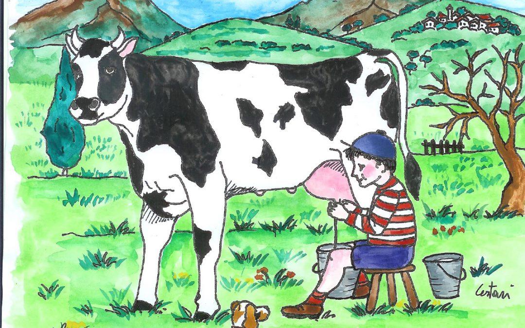 il latte cremoso