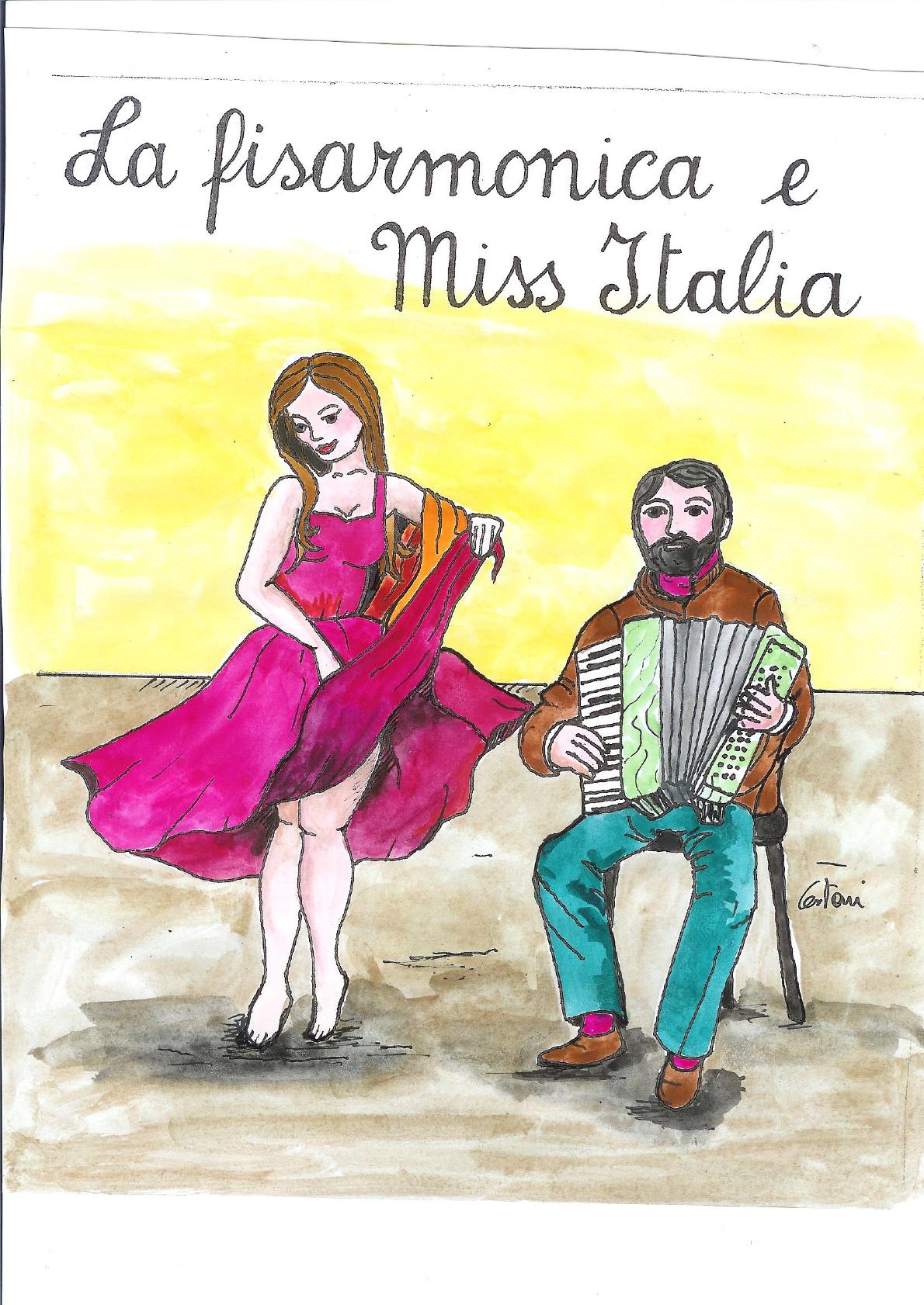 la straordinaria avventura di Cesare con miss Italia: la bella Vittoria