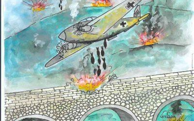 il bombardamento di Percile