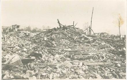 Bombardamento del palazzo