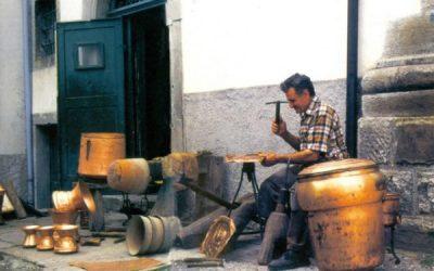 gli artigiani venuti dall'Abruzzo